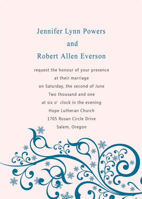 Wedding Invitations Denver by Wedding Invitations Denver Template Best Template Collection