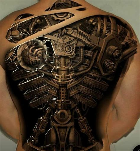 gambar tattoo biomechanical biomechanik tattoo menschen und maschinen tattoos