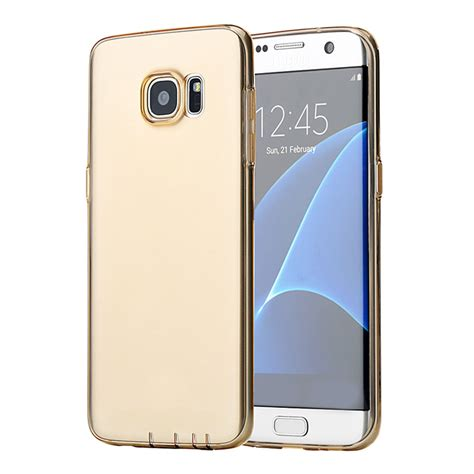 Ultrathin Samsung S7 Edge rock for samsung galaxy s7 edge protective tpu cover