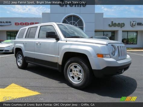 silver jeep patriot 2012 bright silver metallic 2012 jeep patriot sport dark