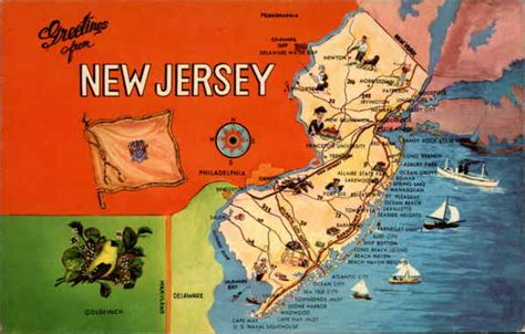 Garden State Jersey Greetings From New Jersey The Garden State Other New