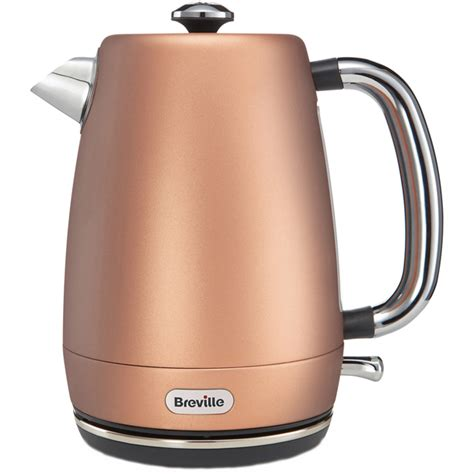 rose gold appliances breville strata luminere vkt057 kettle in rose gold