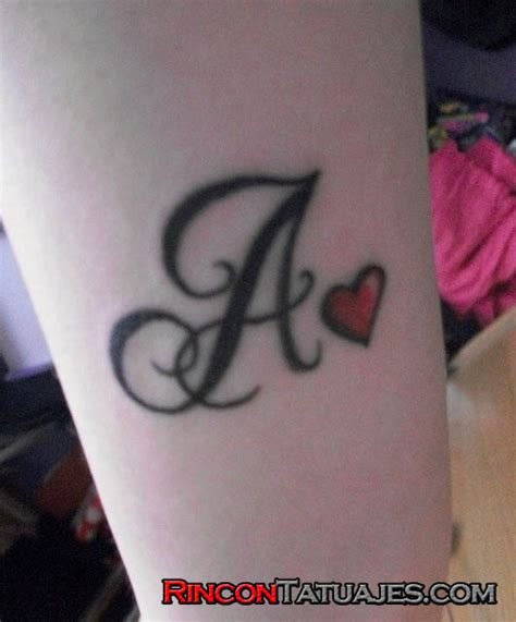 tatuajes de letras 187 ideas y fotograf 237 as