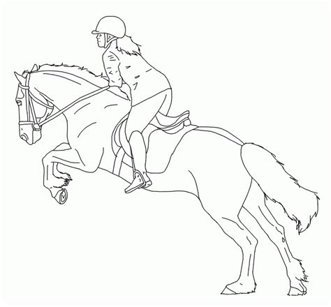 coloring pages horse and rider horse and rider coloring pages coloring home
