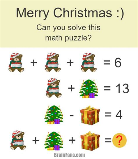 best 28 christmas tree math puzzle mathpuzzle com two