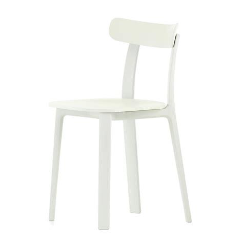 Teppiche Vitra by Vitra All Plastic Chair Wei 223 Kunststoffgleiter Wei 223