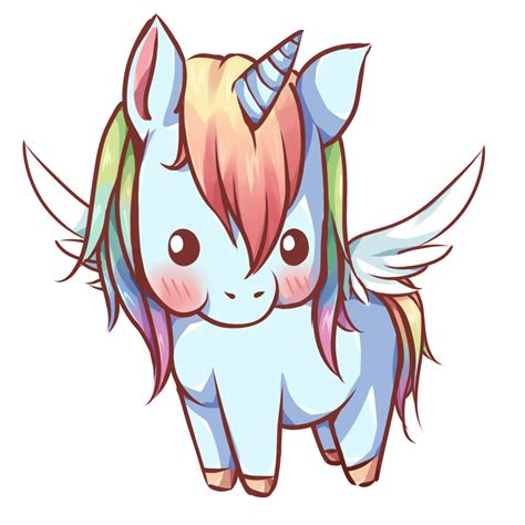kawaii pegasus by dessineka on deviantart