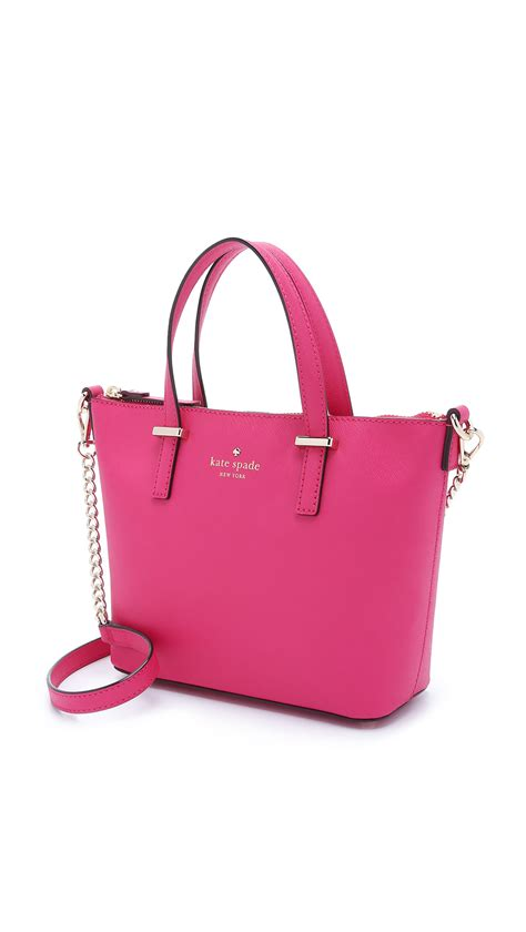 New Pauric Sweeney 08 Bags by Kate Spade Harmony Cross Bag Thistle In Pink