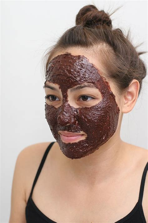 chocolate mask diy diy edible chocolate mask