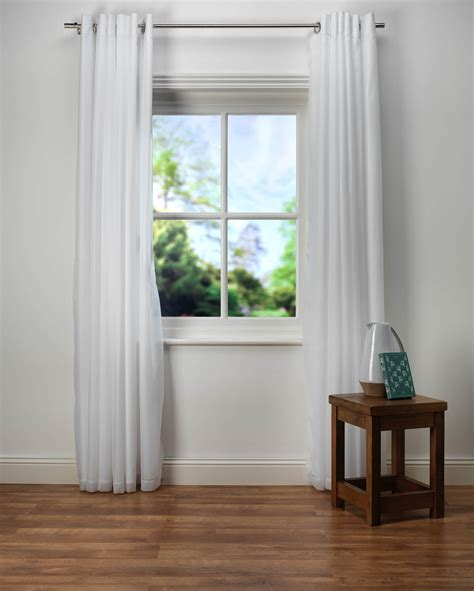 lined white curtains emma white lined voile curtains from net curtains direct
