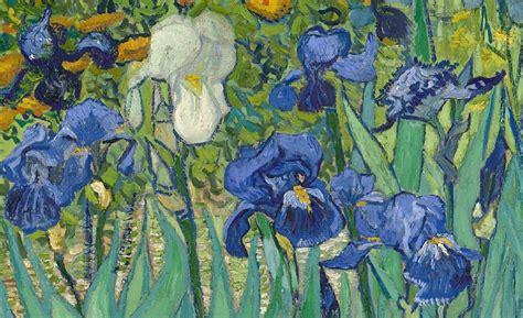 i fiori di gogh iris di gogh analisi