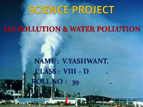 ppt templates for water pollution air pollution authorstream