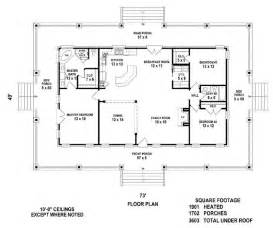 One Story House Plans With Porches 25 Best Ideas About One Level House Plans On Pinterest