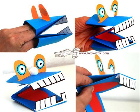 How To Make Paper Puppets Step By Step - 25 best ideas about paper puppets on simple
