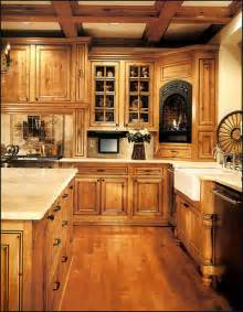 Rustic Alder Kitchen Cabinets by Custom Cabinet Kitchen A