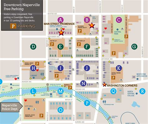 downtown naperville parking directions and parking main street promenade