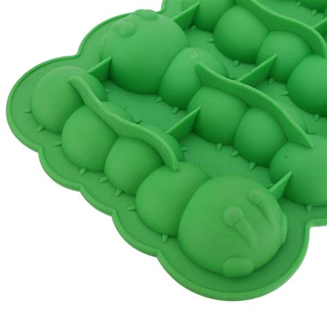 Mega Cube Freeze Mold Intl channy caterpillar chocolate mold mould maker cake