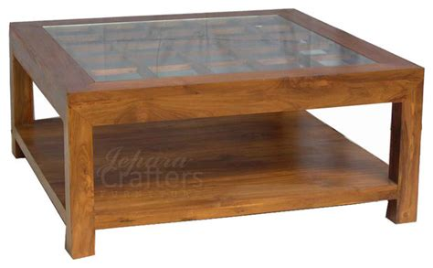 teak coffee table tropical coffee tables other metro