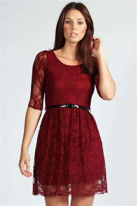 Promo New Dress Lace Maroon Maroon Lace Dress Csmevents