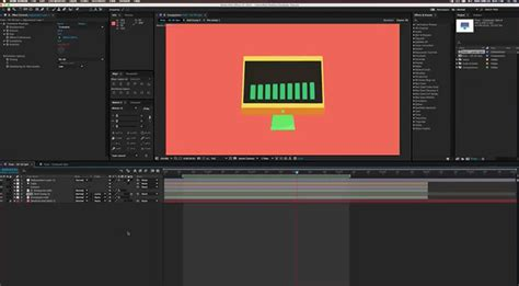 tutorial after effects animation getting started creating 2d style 3d animations with after