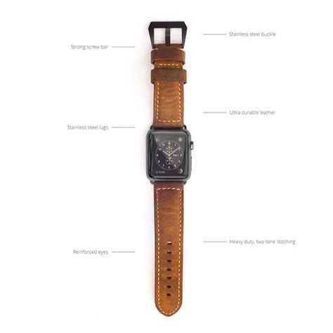 Nomad Strap Apple Watch Band Adds Classic Fashion On Your Wrist   Gadgetsin