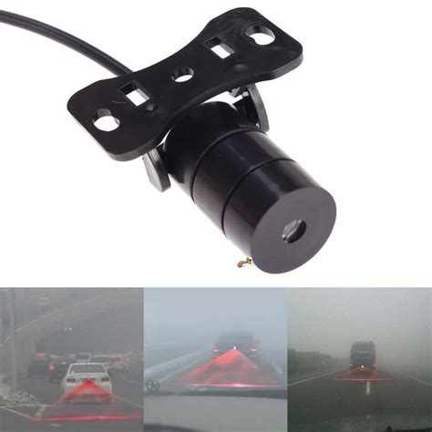 Car Motor Laser Fog Light anti collision rear end car laser fog light auto brake parking rear l lg ebay