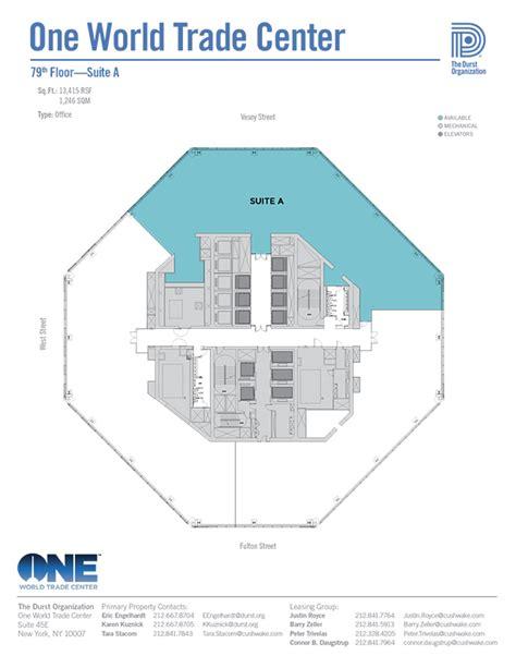 one world trade center floor plan one world trade center