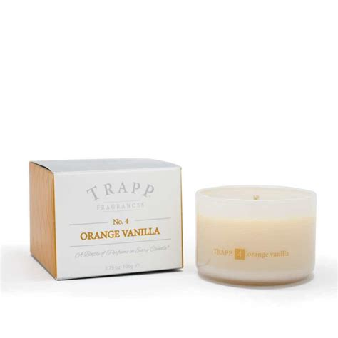 Trapp Candles Trapp Candles No 4 Orange Vanilla 3 75 Oz Poured Candle