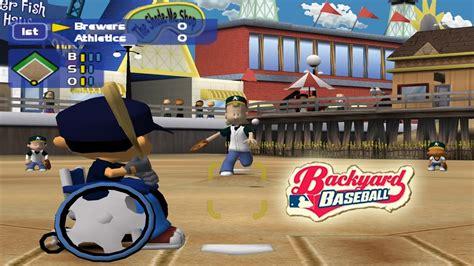 backyard baseball gamecube dolphin emulator 5 0 1691 backyard baseball 1080p hd