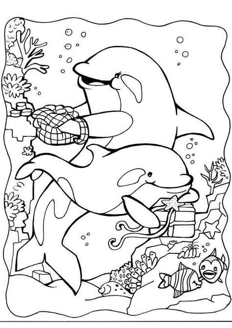 coloring book your photos delfine 12 ausmalbilder 123