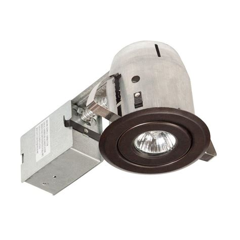3 led recessed lighting kit lithonia lighting 3 in matte white recessed led gimbal