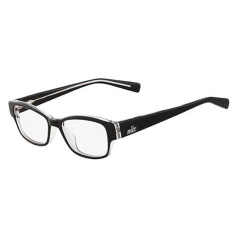 Frame Kacamata Anak Nike Square nike eyeglasses 5527 001 black with demo lens ebay