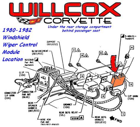 1980 corvette wiring diagram fuse box location 1980 corvette box free