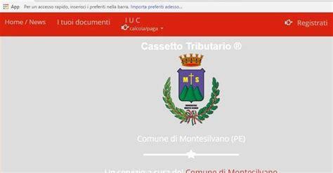 comune di montesilvano ufficio tributi rifiuti ora la tari si paga su 171 basta con le