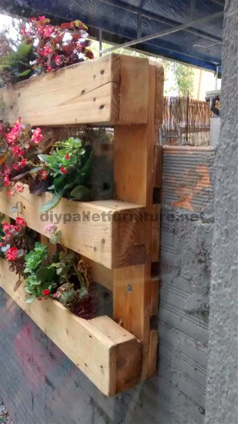 jardineras patio interior mueblesdepalets net taburete