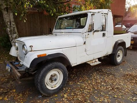 jeep scrambler for sale on craigslist 1984 jeep scrambler cj8 s6 auto for sale anchorage ak