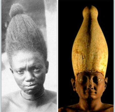 hair in egypt people and technology used in creating egyptian crowns were designed after african hairstyles