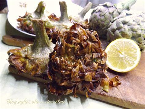 cucinare i carciofi romaneschi carciofi alla giudia