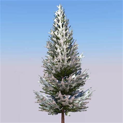 winter trees  model formfonts  models textures