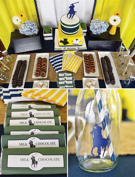 club themed decorations ralph inspired polo club birthday