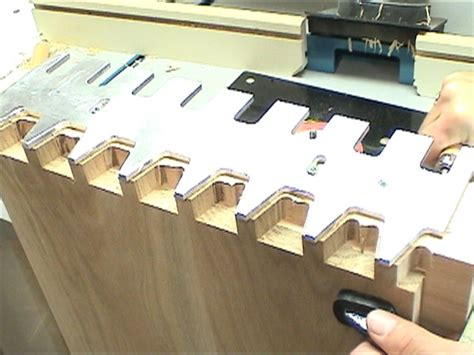 dovetail jig template custom project woodworking templates