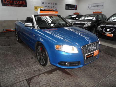 Audi A4 4 2 V8 by Audi A4 S4 Convertible 4 2 V8 Quattro Auto Sat Nav Leather