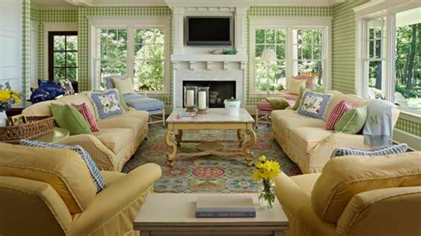 country home decorating ideas living room 15 homey country cottage decorating ideas for living rooms
