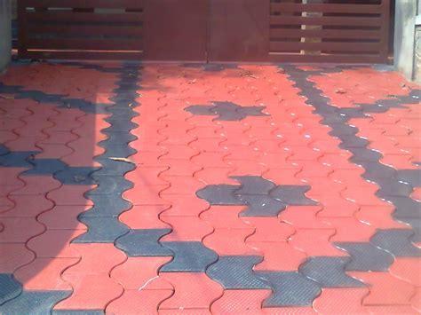 build a building exterior tile interlock