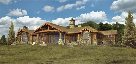 ranch style log home floor plans free home plans large ranch house plans