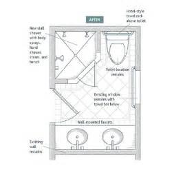3 4 Bath Layout 5 X 10 Bathroom Floor Plan Trend Home Design And Decor