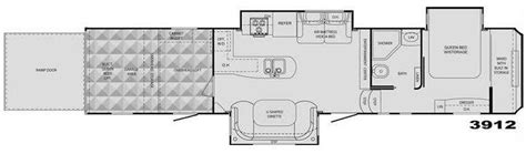 cyclone rv floor plans used 2009 heartland cyclone 3912 toy hauler fifth wheel at