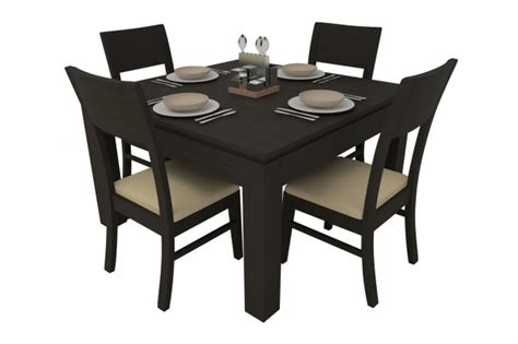 4 seater dining table synova ashburn dining table set 4 seater teak wood