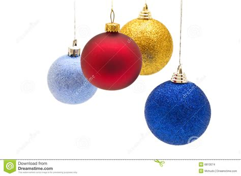 colorful christmas balls stock images image 6813074