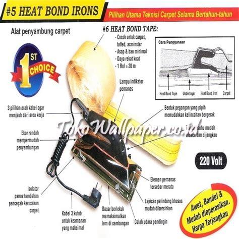 Heater Setrika heat bond iron setrika karpet toko wallpaper jual